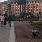 Plaza Colon, a la vuelta del hotel