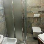 Il bagno della camera jumeaux