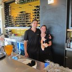 Two of the very friendly, informative staff at Wise Vineyards