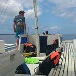 the dive banka, Sherwood Bay - Lisa