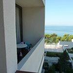 Widok z pokoju z widokiem na morze