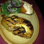 Chargrilled Chicken Main Meal with salad & coleslaw