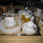 Frühstück im Zimmer