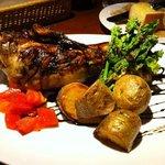 bone-in pork dish