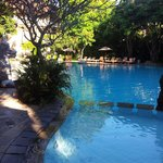 Beautiful deep pool