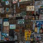 Inside the Hideaway Tiki Bar