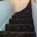 Último tramo de escaleras