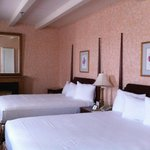 Bedroom portion of suite #351