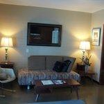 Living area in the Honeymoon Hideaway