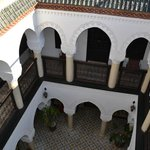 Interior courtyard