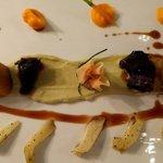 Das Beste vom Weidkalb (Bäckchen, Bries und Filet)