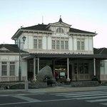 日光ステーションホテルクラシックから見たJR日光駅