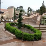 Beautiful stairway to Museum