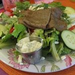 Gyro salad - large $8.95