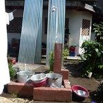 Detalle del suministro de agua