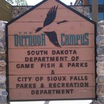 The Outdoor Campus sign