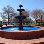 Fountain in Glover Park, Marietta Square
