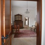 Hallway with antiques