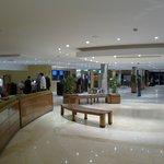Lobby with free wifi