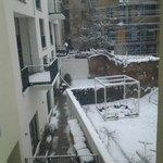vista desde la ventana de mi habitación