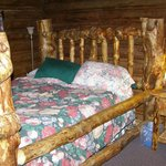 Double bed in main cabin