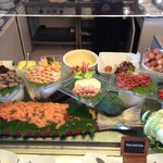 salmone e varie