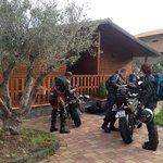Arriving at Porta dell' Etna