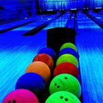 UV lit Bowling alley