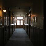 Hallway to rooms Hotel Vendome