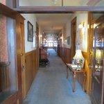 Hallway to commons area