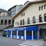 Terraza y fachada