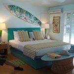 Hawaiian Surf room