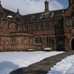 Gladstone's Library - in the snow - March 2013
