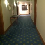 part of the hall way to our room