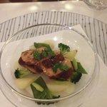 Escalope de foie gras à la fève Tonka