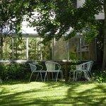 Un coin de jardin pour pique-niquer