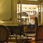 View of Orangerie bar from the lounge