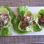 lettuce wraps! Excellent
