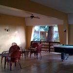 Pool table and TV room (sometime nightly entertainment)