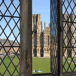 View of Wells Cathedral