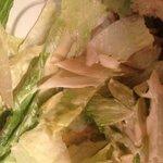 "soggy ""Caesar "" salad"