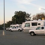 Gravel section - Cal Expo RV Park