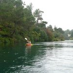 Me on the Waikato River!