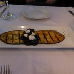 Melanzana--grilled eggplant--Have to learn to make this!