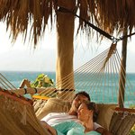 Private hammocks are perfect for relaxation