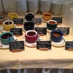 Homemade jams and more.