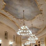 One of the gorgeous ceilings.