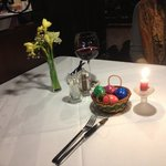 Easter on the table