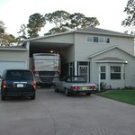 Garages hold a full size RV