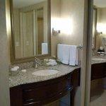 Vanity/dressing area one bedroom suite